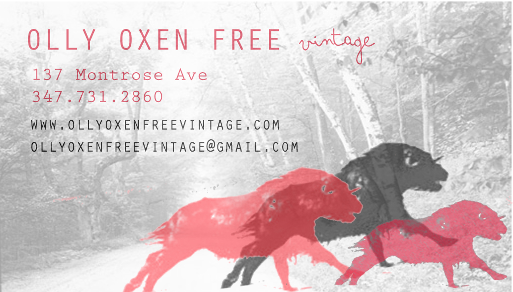 Olly Oxen Free Vintage